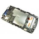 Vitre tactile + LCD prémontés sur Châssis pour WT19i Live with Walkman