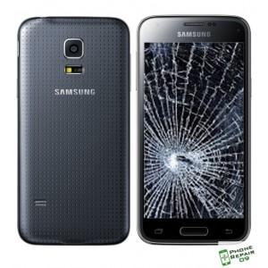 Réparation Vitre Avant + LCD + Coque Arrière Galaxy S5 Mini