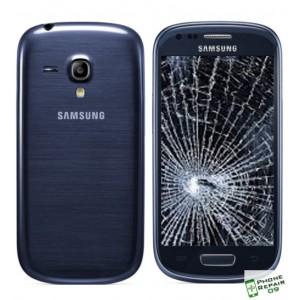 Réparation Vitre Avant + LCD + Coque Arrière Galaxy S3 Mini