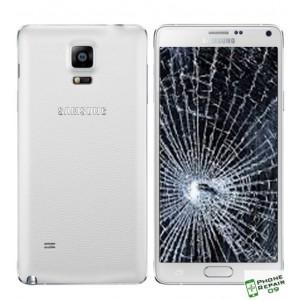 Réparation Vitre Avant + LCD + Coque Arrière Galaxy Note 4