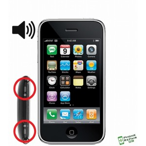 Réparation Haut Parleur externe iPhone 3G